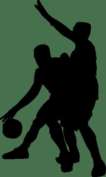 Basketball Players Clipart transparent PNG - StickPNG