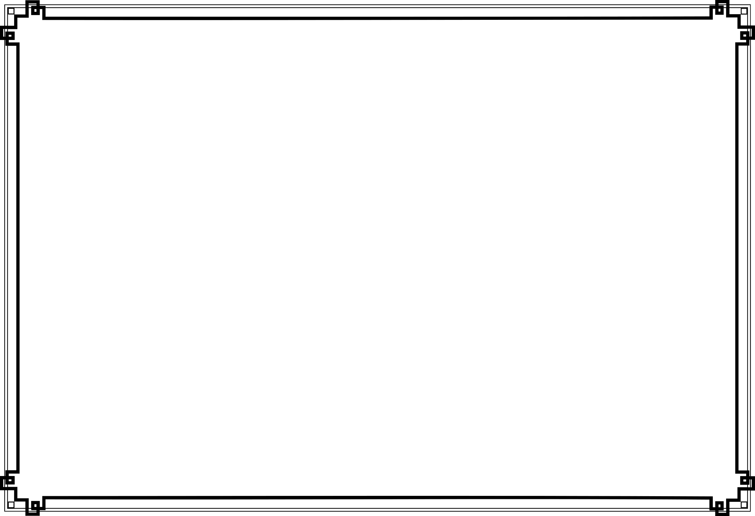 Art Deco Border transparent PNG , StickPNG