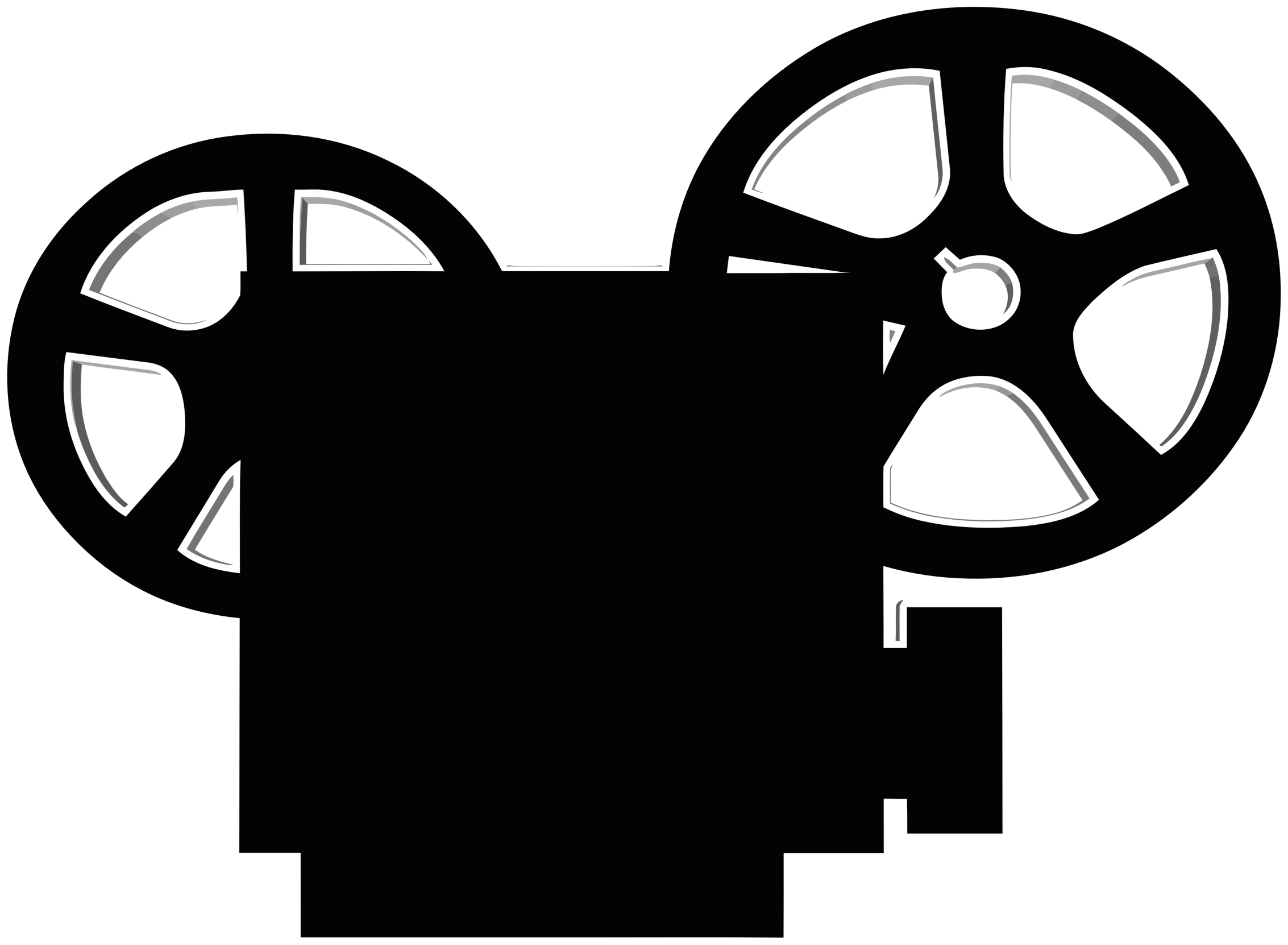 Movie projector. Icon clipart transparent png