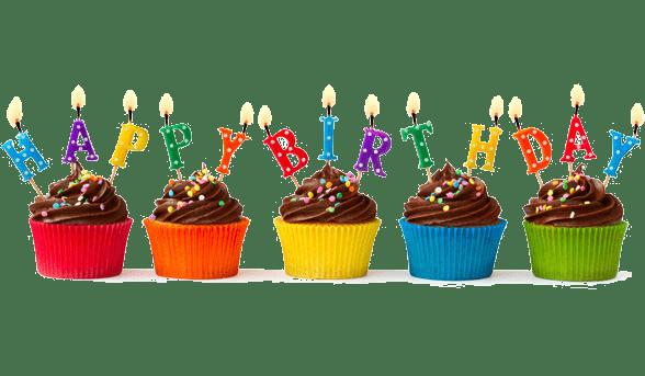 Resultado de imagem para birthday cupcake png