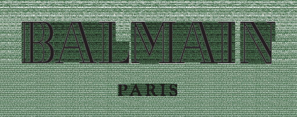 Balmain Logo transparent PNG
