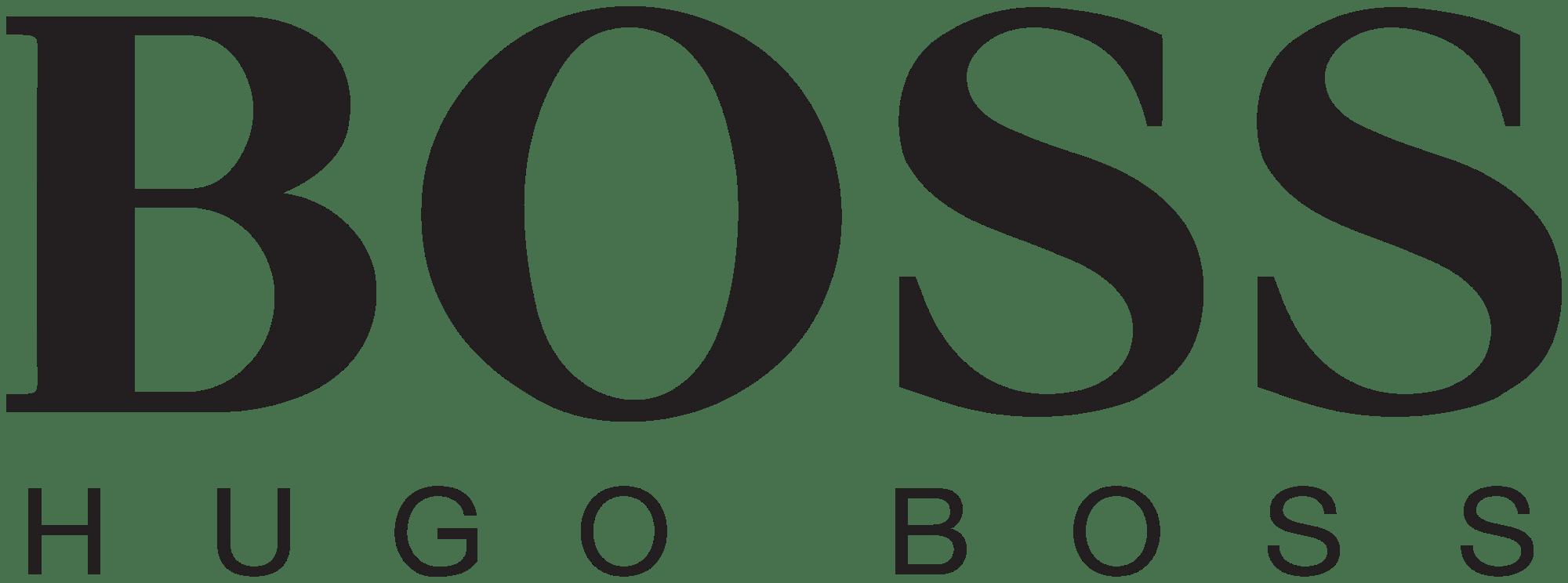 hugo boss logo transparent png stickpng