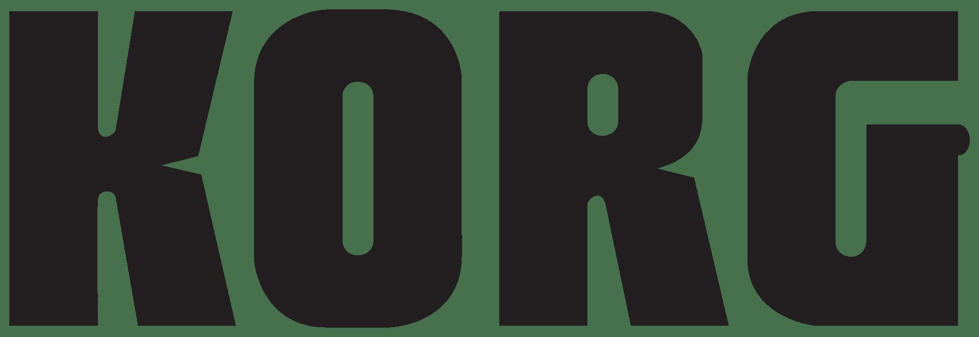 Korg Logo transparent PNG - StickPNG