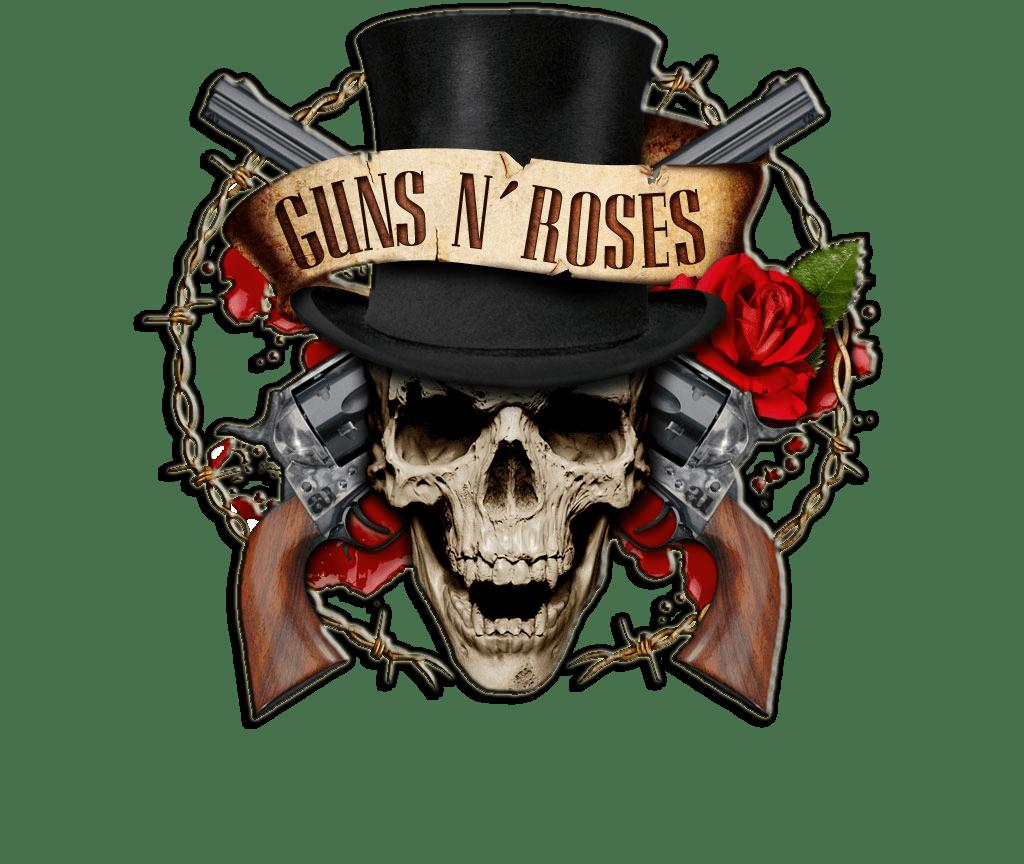 Guns N' Roses Logo Transparent PNG