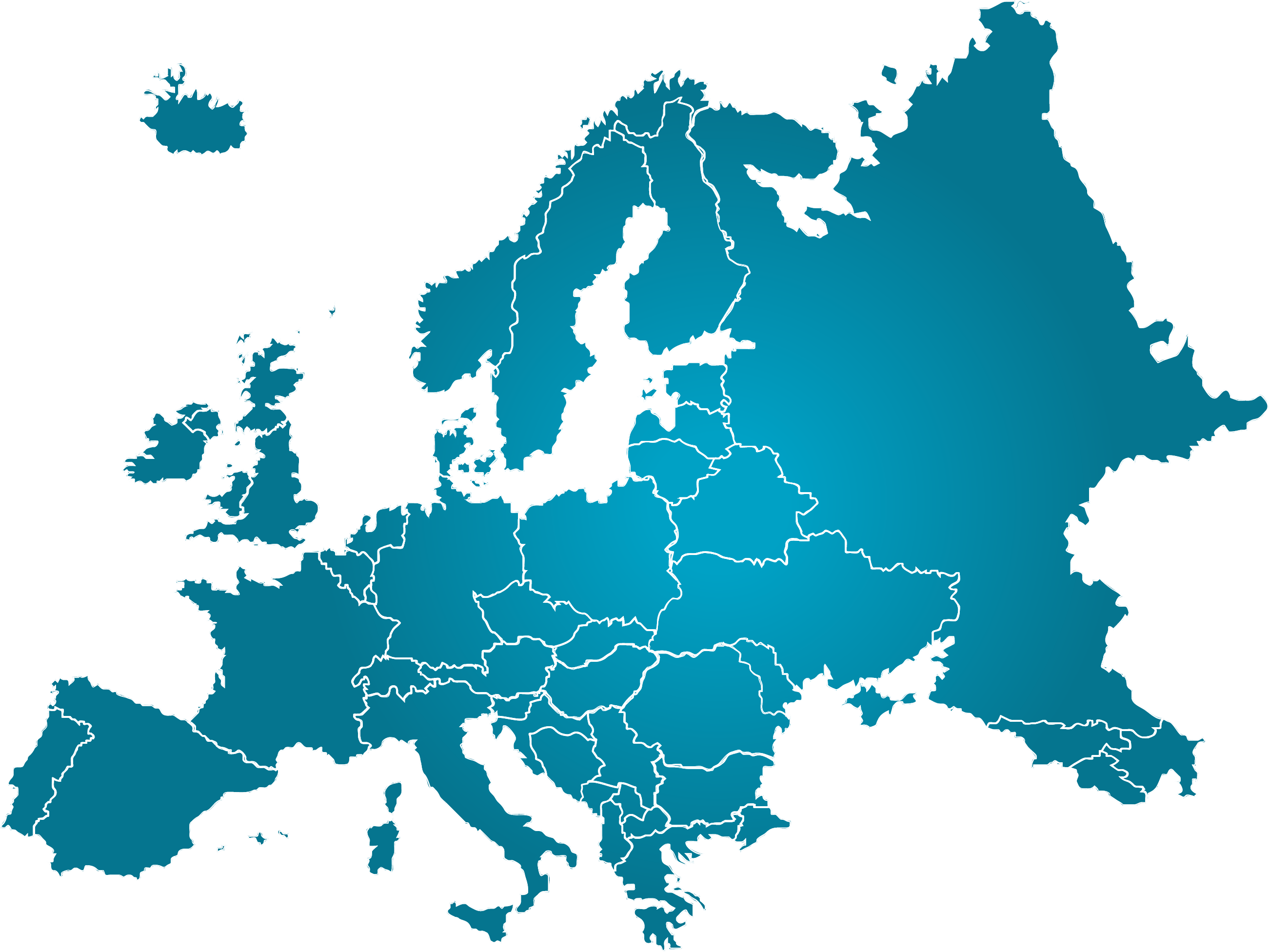 Europe Map transparent PNG StickPNG