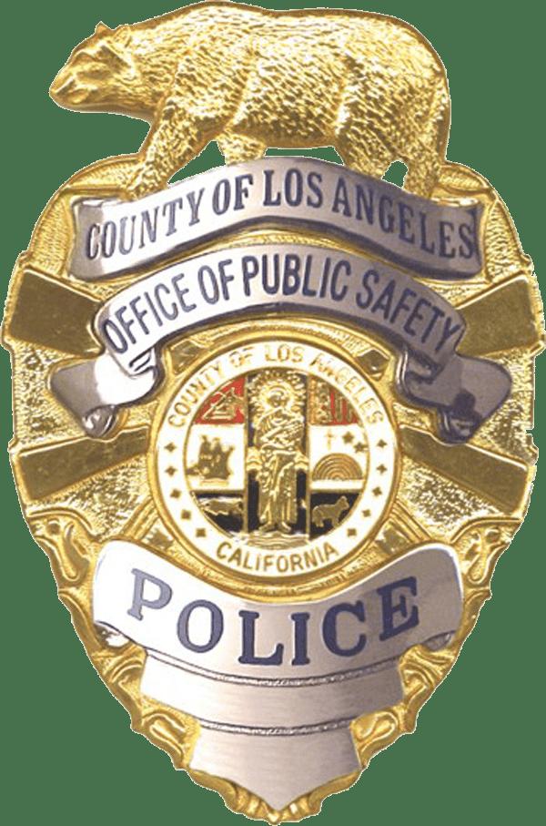 los angeles police badge transparent png stickpng