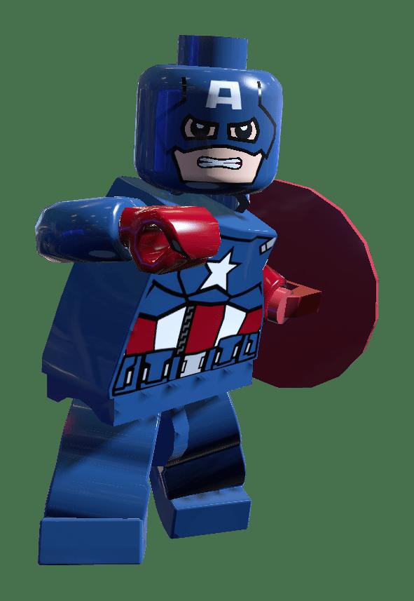 Png Stickpng America Lego Capitán Transparente vm0Nn8w