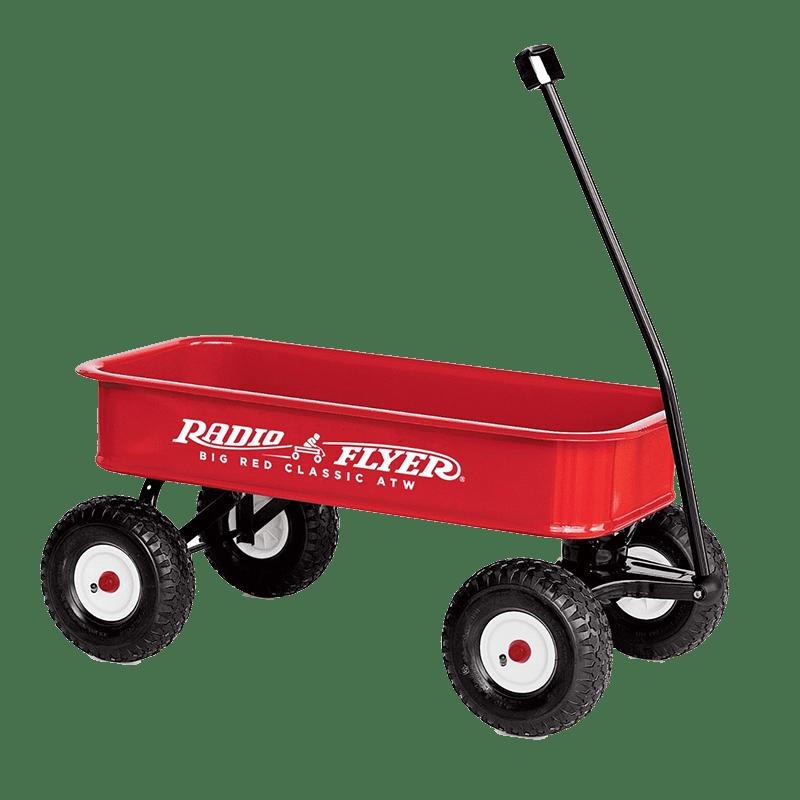Carro De Juguete Radio Flyer Png Transparente Stickpng