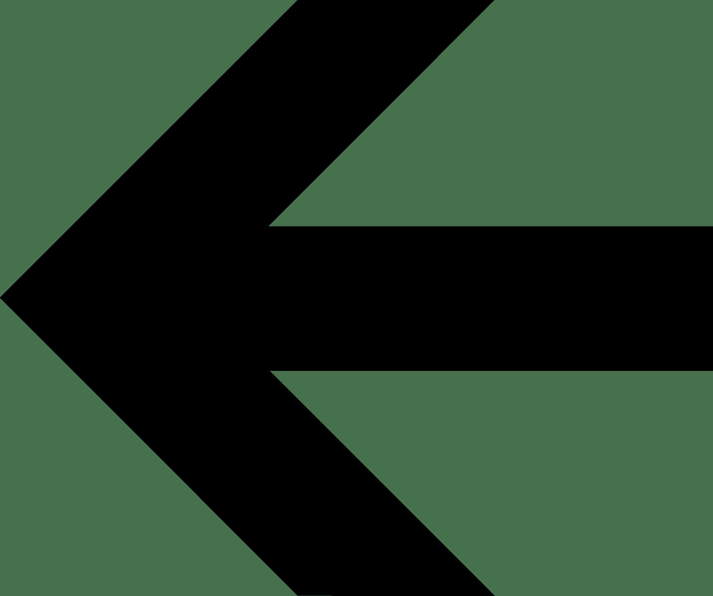 bold arrow left transparent png stickpng