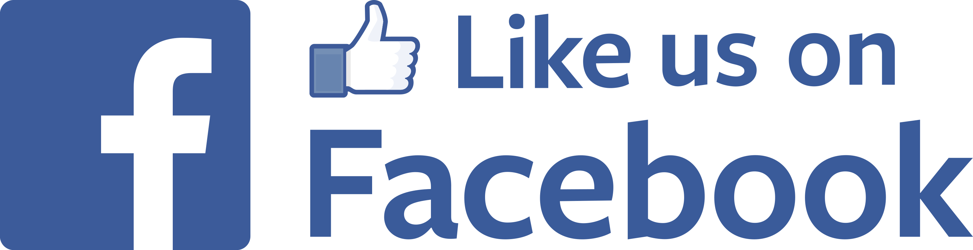 Like Us on Facebook With Thumb Up transparent PNG - StickPNG