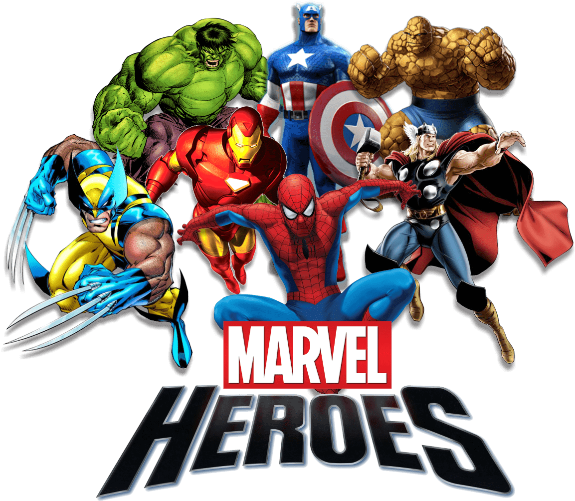 Marvel Heroes transparent PNG - StickPNG