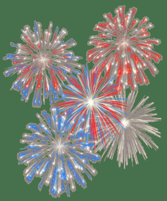 Fuegos Artificiales Explosiones Multiples Png Transparente Stickpng