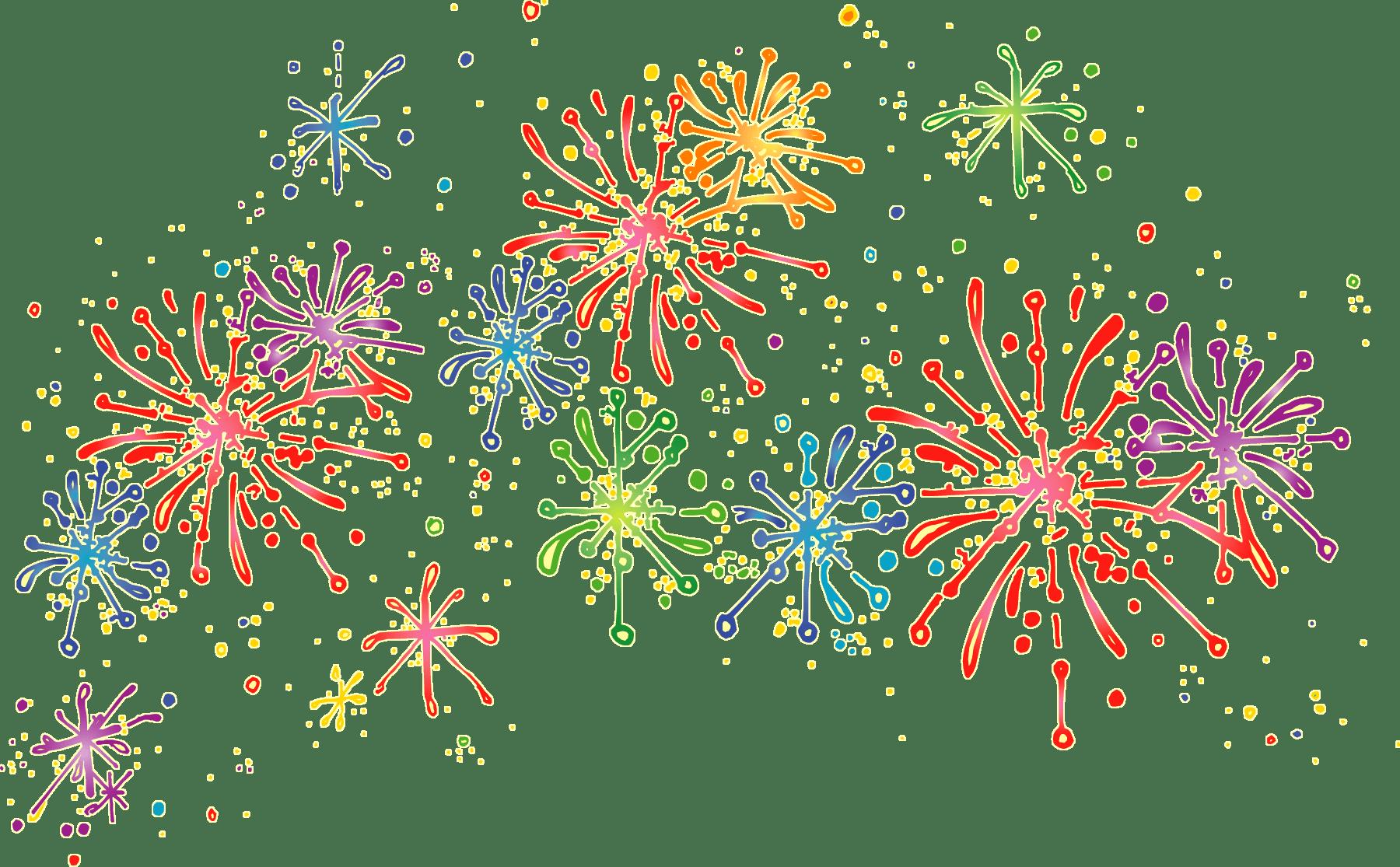 Cartoon Fireworks Transparent Png Stickpng