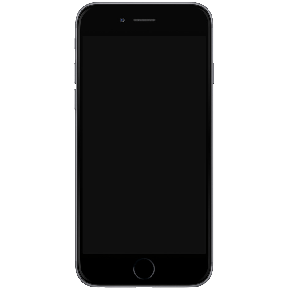 Iphone 7 Template transparent PNG - StickPNG