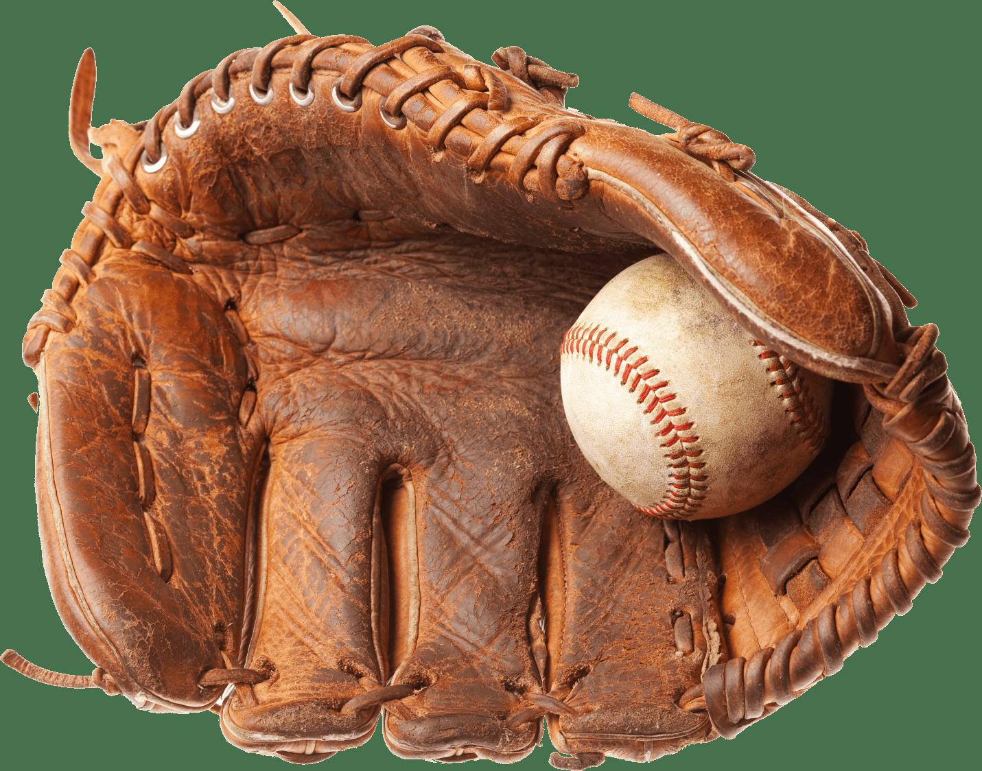 Vintage Baseball Glove Transparent PNG