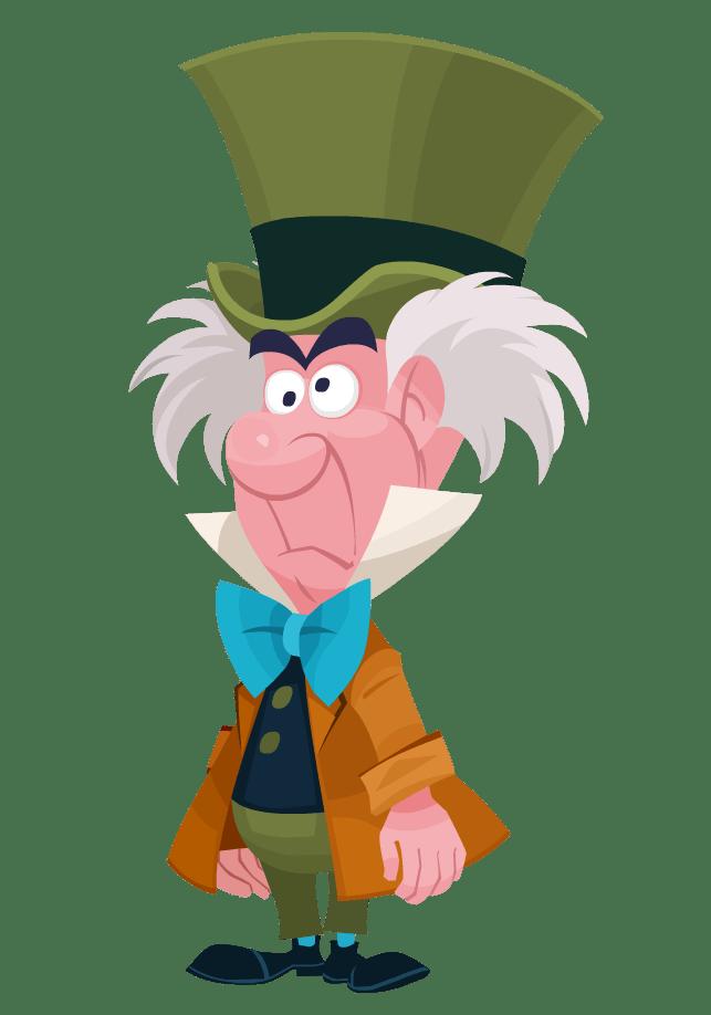 Mad Hatter Disney Transparent Png Stickpng
