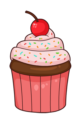 cartoon cupcake pink transparent png stickpng rh stickpng com cupcake cartoon pictures free funny cartoon cupcake pictures