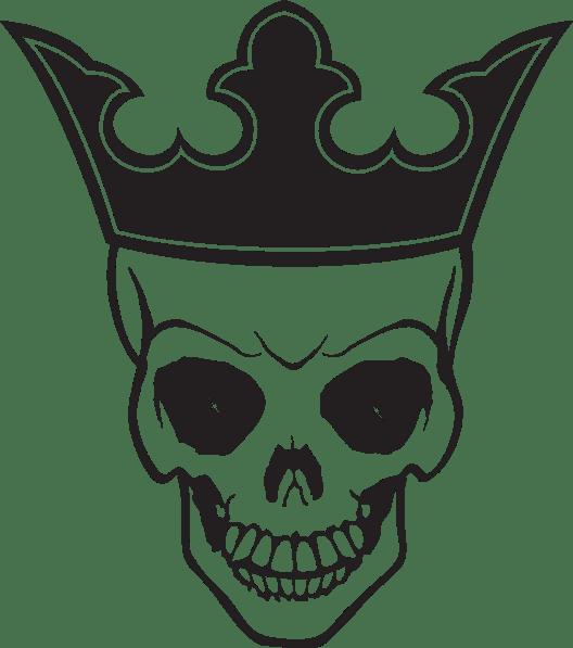 skull and crown tattoo transparent png stickpng. Black Bedroom Furniture Sets. Home Design Ideas
