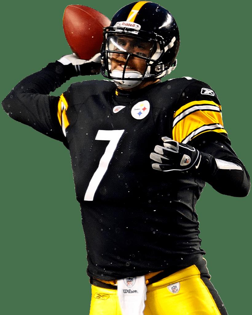 20e2e853e7e Steelers 7 Ben Roethlisberger transparent PNG - StickPNG