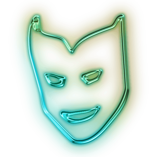 Neon Mask Snapchat Filter transparent PNG - StickPNG