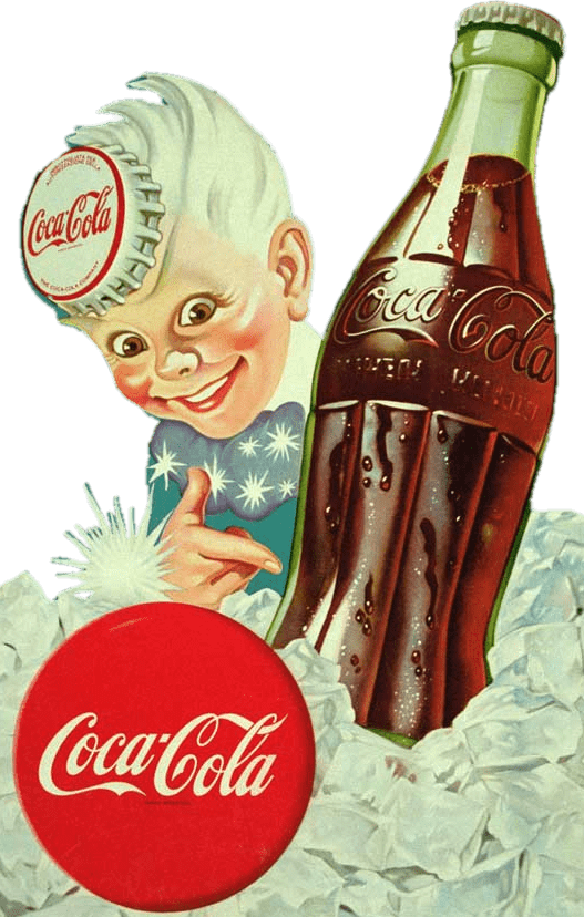 Top Coca Cola Vintage Boy Advertising transparent PNG - StickPNG &GG71