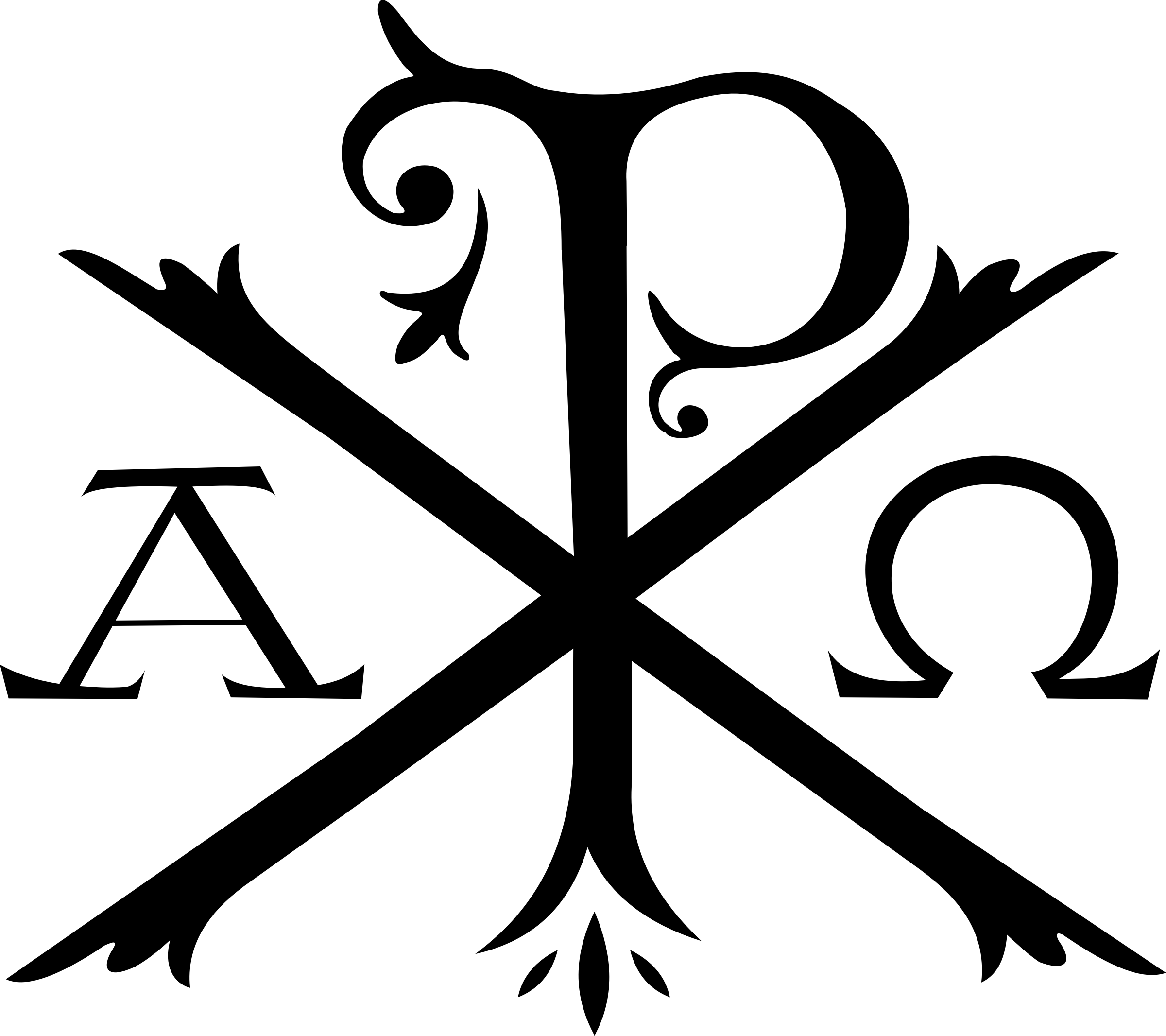 Alpha Omega Chi Rho Transparent PNG  StickPNG