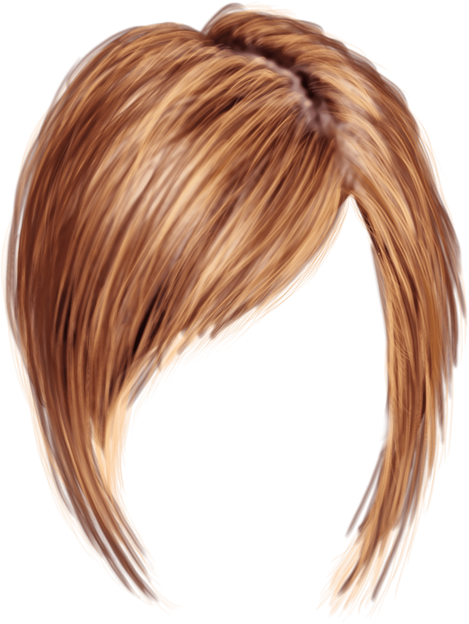 Short Women Hair Transparent Png Stickpng