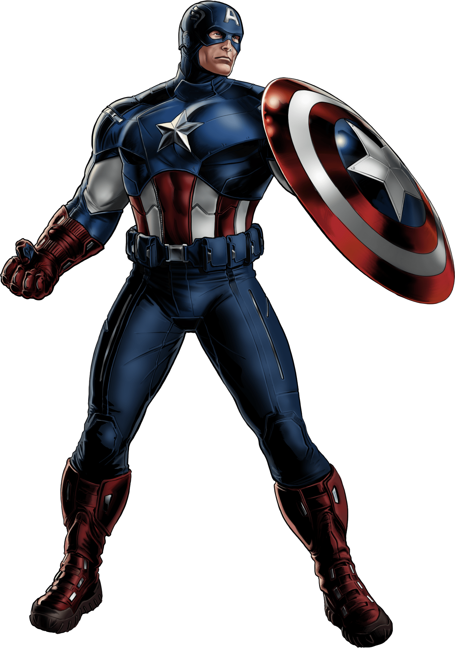 Captain america looking right transparent png stickpng - Image captain america ...