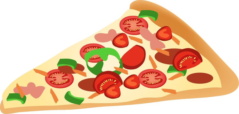 Pizza Slice Clipart transparent PNG - StickPNG