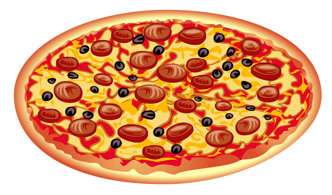 Food pizza. Pepperoni clipart transparent png