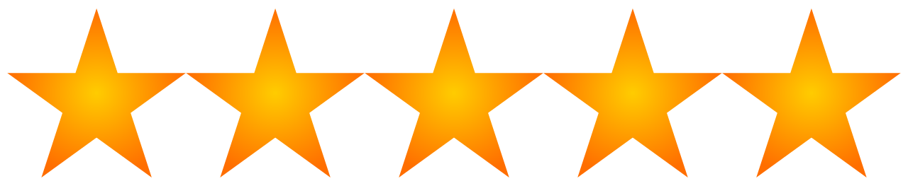 Image result for 5 stars png