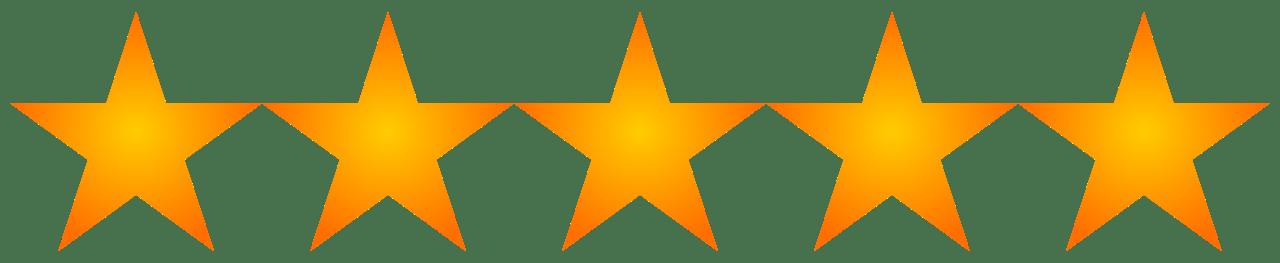 Resultado de imagen de 5 estrellas png