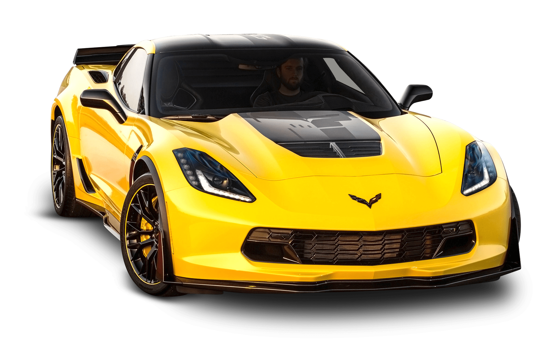 Yellow Corvette Transparent Png Stickpng