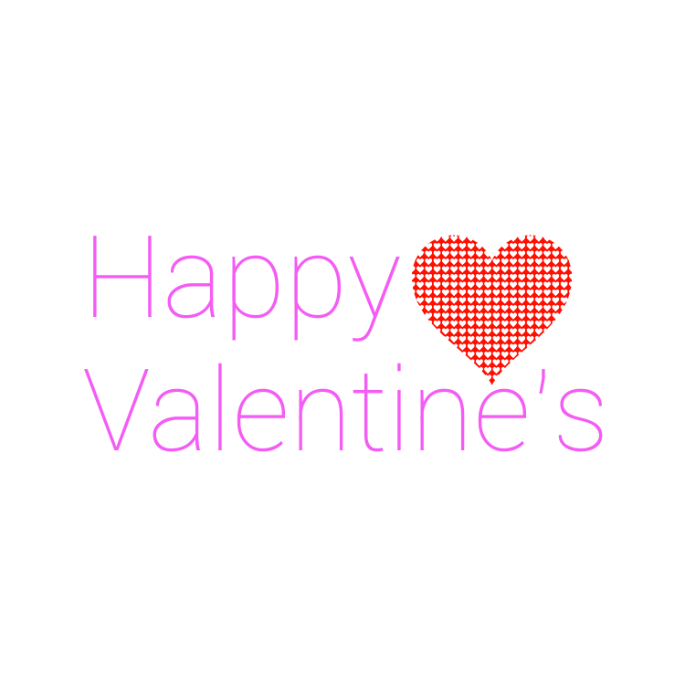 Happy Valentine S Modern Purple Text Transparent Png Stickpng