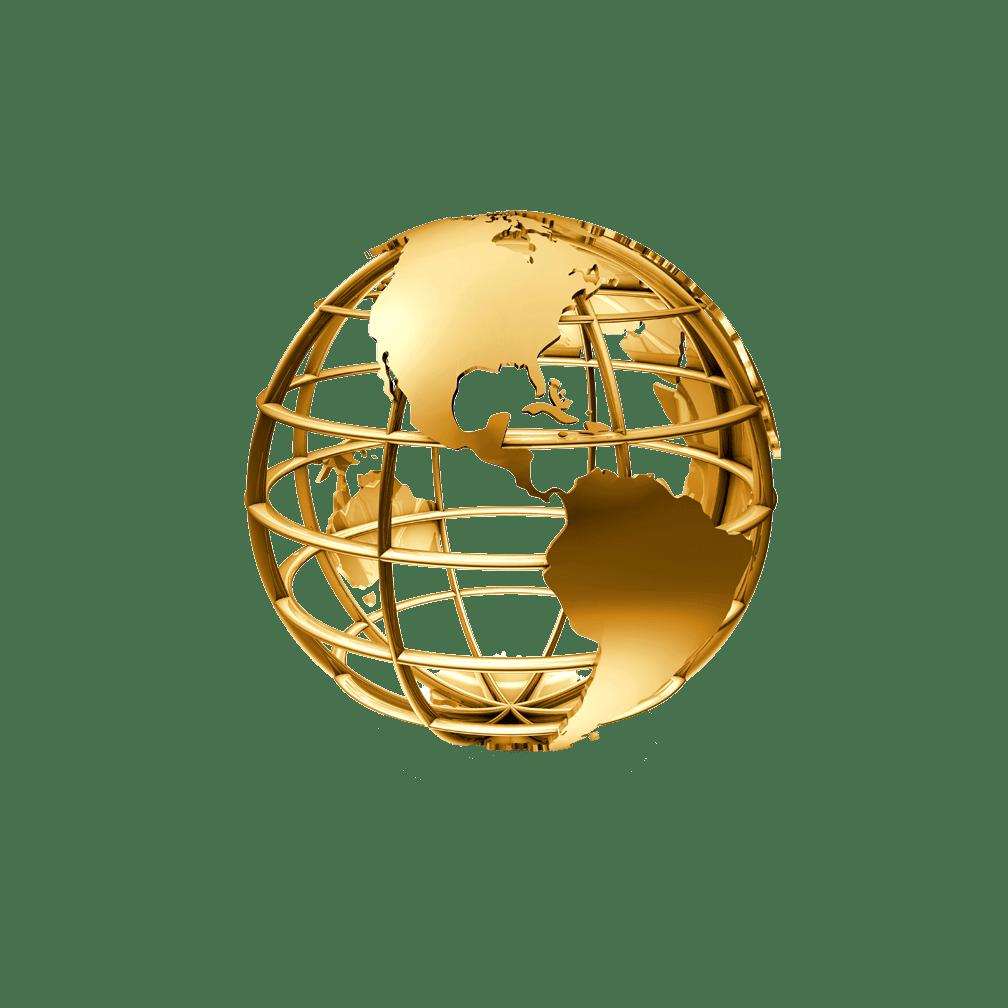 Golden Globe transparent PNG - StickPNG