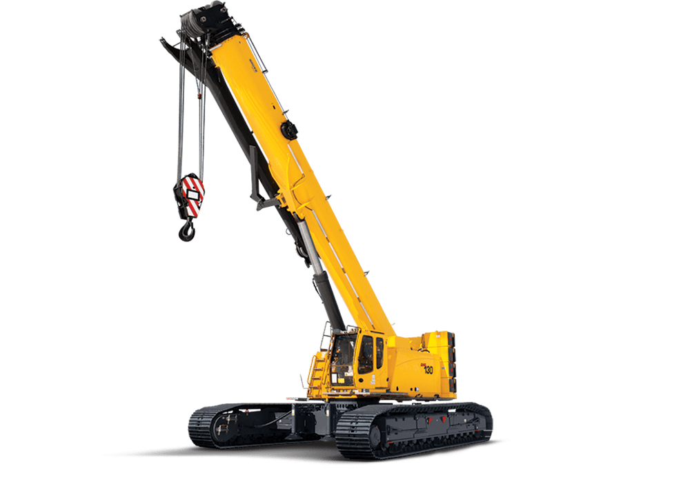 Telescopic Crawler Crane transparent PNG - StickPNG