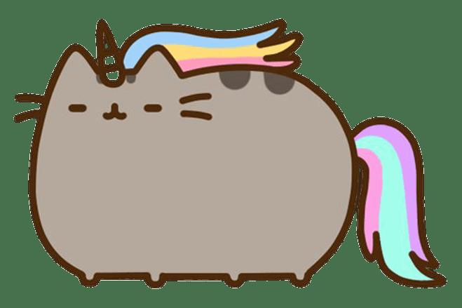 pusheen unicorn transparent png stickpng