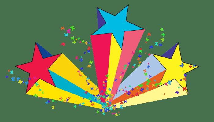 80s Shooting Stars transparent PNG - StickPNG