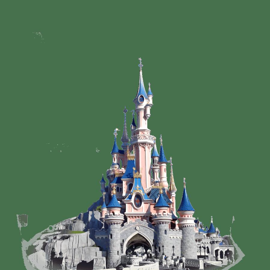 disneyland castle transparent png stickpng