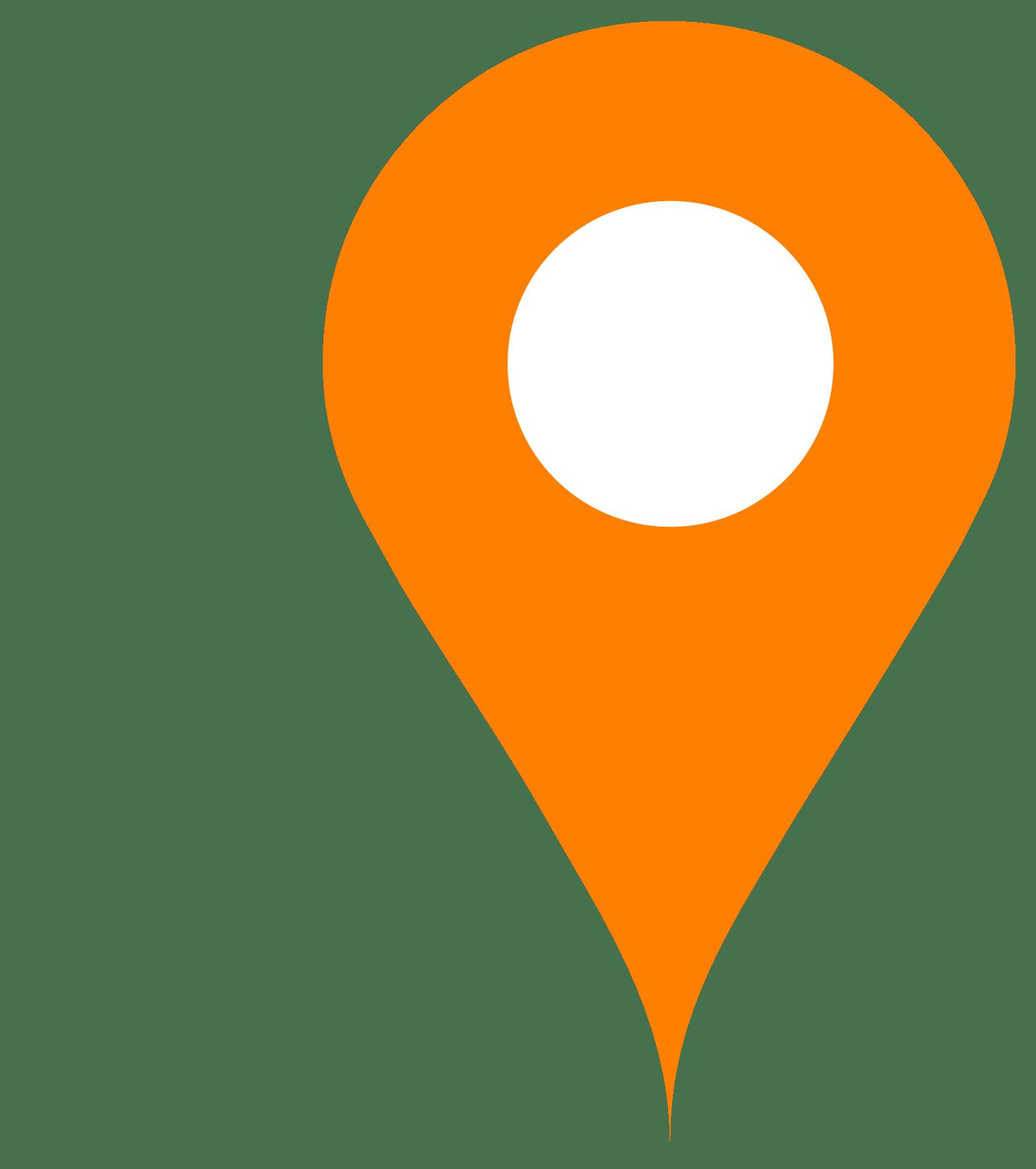 Map Pin Png Orange Map Pin transparent PNG   StickPNG Map Pin Png