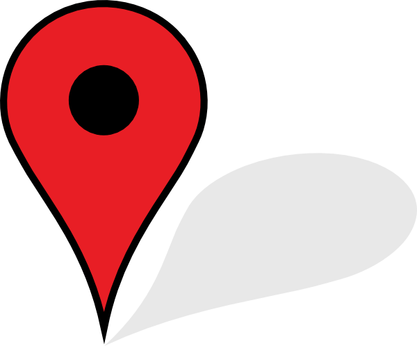 Red Map Pin With Shadow Transparent PNG