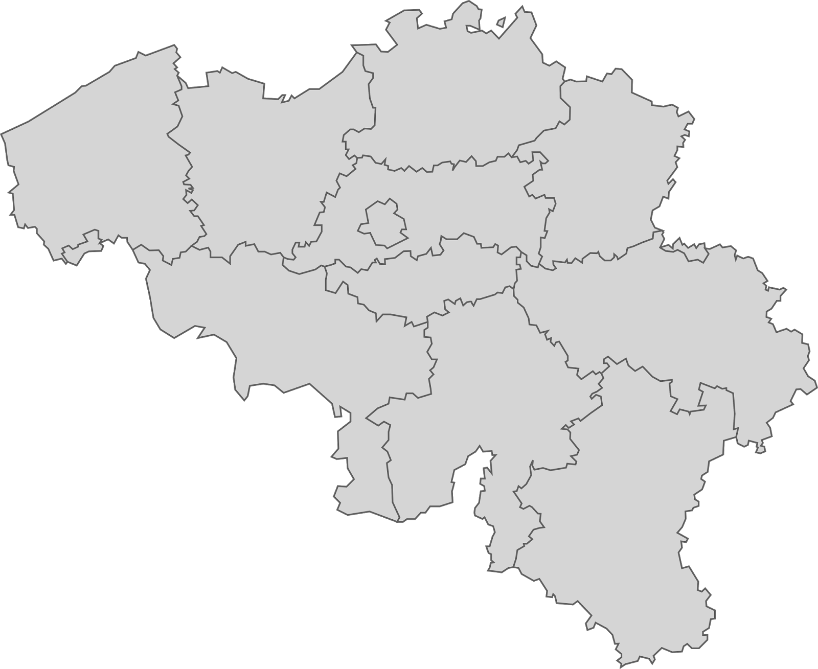 Belgium Map transparent PNG - StickPNG