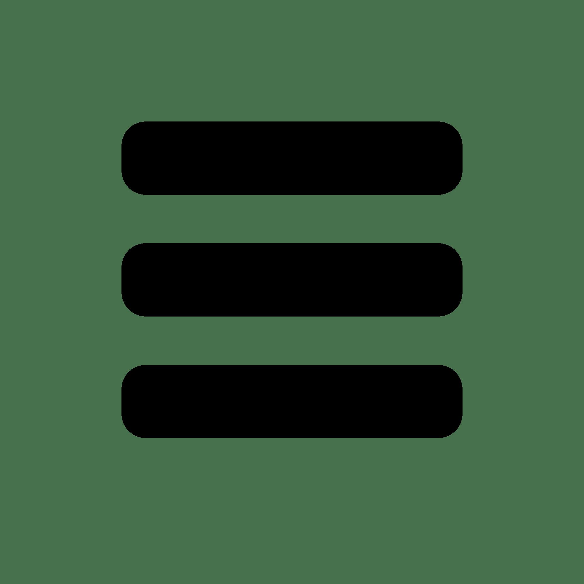 grey menu icon transparent png stickpng