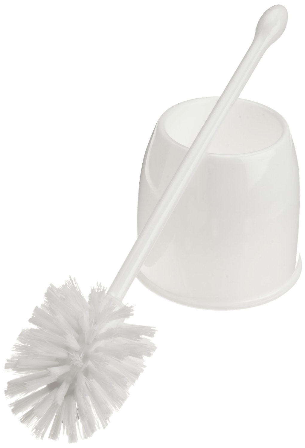 Toilet Brush White Transparent PNG