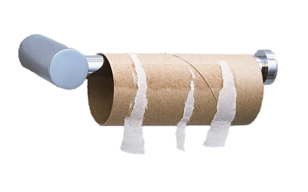Toilet Paper Roll Empty Transparent Png Stickpng
