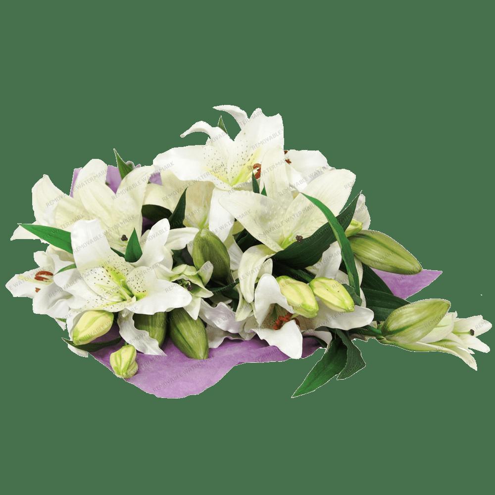 Lilies Bouquet transparent PNG - StickPNG
