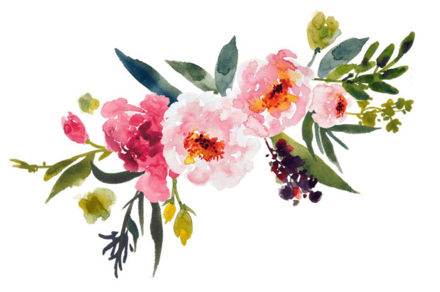 Watercolor Bouquet Transparent PNG