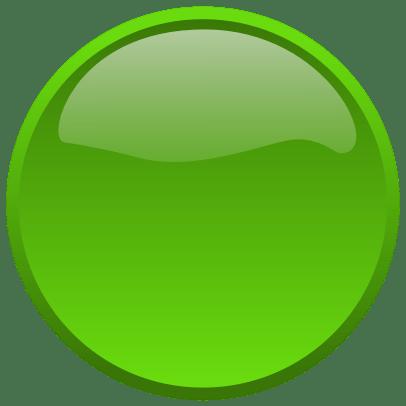 green button transparent png stickpng