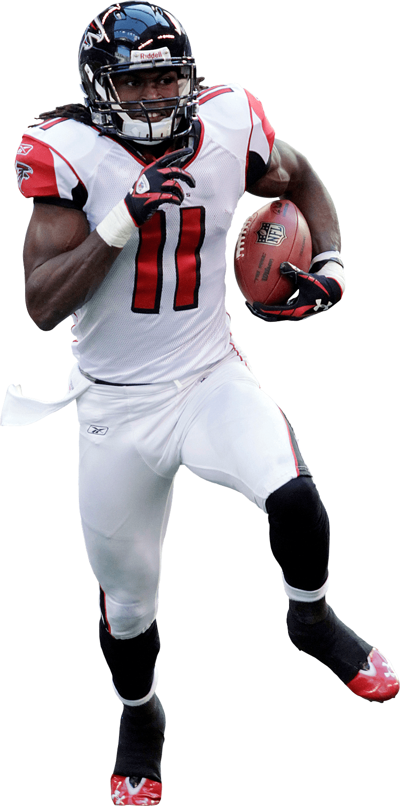 Julio Jones 11 Atlanta Falcons transparent PNG StickPNG