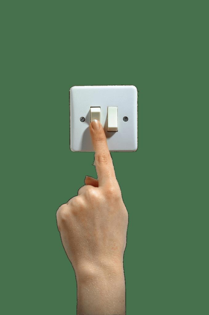 Finger on Light Switch transparent PNG - StickPNG